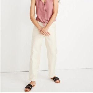 Madewell Griff Fatigue Pants Size 32 NWT